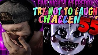Vapor Reacts #798 | [FNAF SFM] FIVE NIGHTS AT FREDDY'S TRY NOT TO LAUGH CHALLENGE REACTION #55