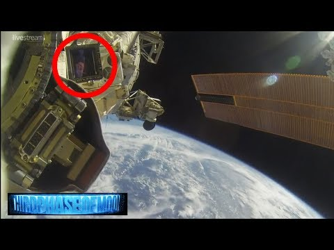 Strange Alien Species Caught Inside ISS? NASA Cut's LIVE Feed!  8/13/2017