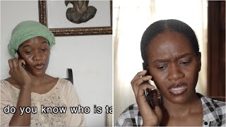 When Your mom forces you to talk to a Relative (Maraji's World)