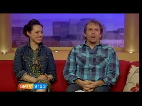 Dean Andrews and Monserrat Lombard talk about Ashes To Ashes GMTV, 08.04.10