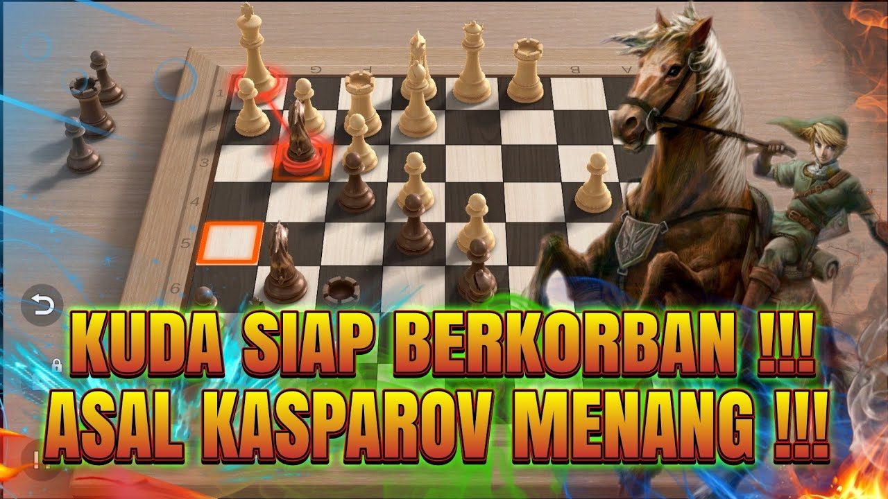 Download KUDA PEMBERANI KASPAROV !!! jeroen piket vs garry kasparov 1989