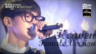 Video Chen Exo M   To Heaven Cover Female Version download MP3, 3GP, MP4, WEBM, AVI, FLV Juni 2018