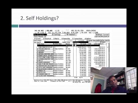 In-Practice Webcast #2: Analyzing the stockholder base