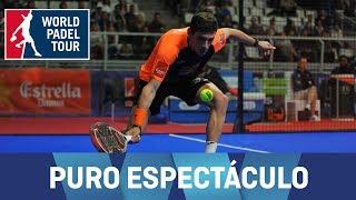 El juego más espectacular del Estrella Damm Alicante Open 2018