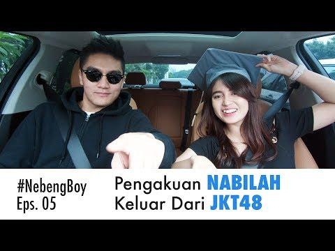 #NebengBoy Eps 05 - Nabilah Keluar Dari JKT48 Karena Pacaran!? Boy William Penasaran!