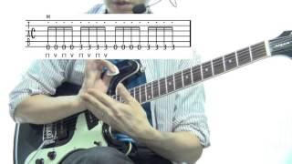 ■ギター初心者さん専用解説動画!ベンチャーズ「ダイヤモンドヘッド」を少しずつ解説します。パート1
