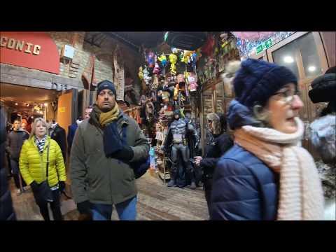 Market Tour | Camden Market, London England [4K]
