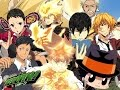 Katekyo hitman reborn ! all openings ( 1,2,3,4,5,6,7,8 )
