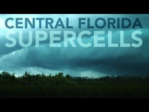 Tornado Warned Supercells - Central Florida 3/20/18