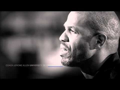 """UPenn Coach Jerome Allen's PSA for """"Go Big or Go Home"""" 2015"""