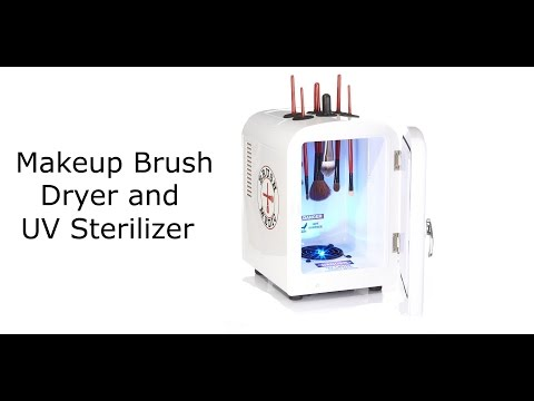 Brush Medic Makeup Brush UV Sterilizer And Dryer