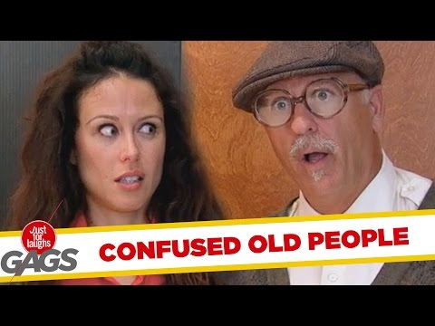 Confused Old People - Best of Just For Laughs Gags