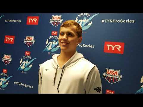 Carson Foster, 200 back, Indianapolis Pro Swim Series