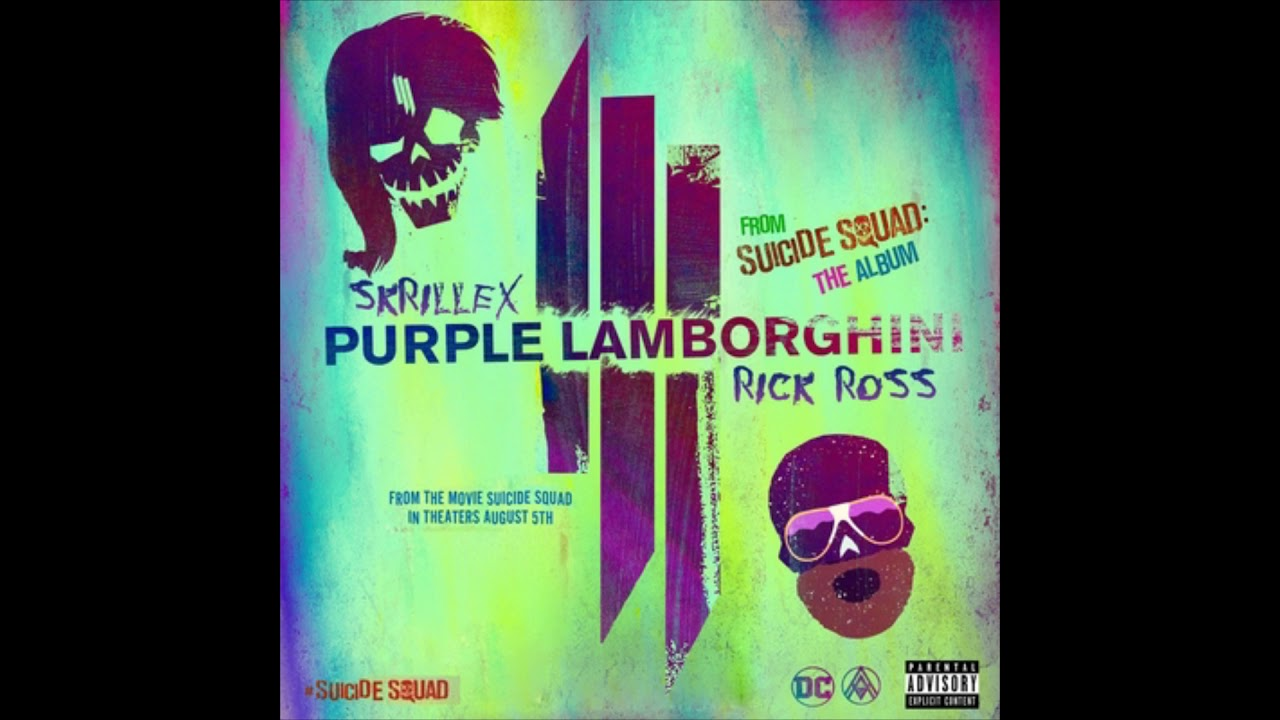 Skrillex Rick Ross Purple Lamborghini Virtual Riot Edit Clean