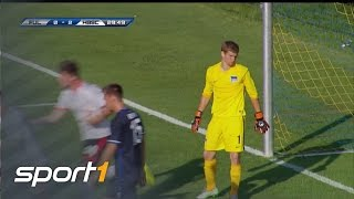 Hertha gibt Sieg gegen FC Fulham aus der Hand | TESTSPIELE SOMMER 2015