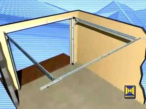 Hormann Sectional Garage Door Installation Youtube