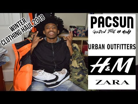 Mens Clothing Haul Winter 2018 (Zara, H&M, Pacsun, Urban Outfitters)