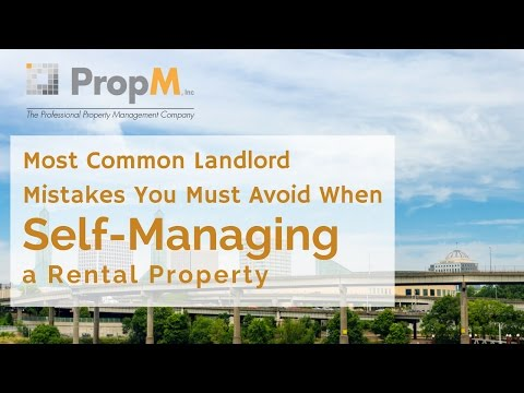 Most Common Landlord Mistakes You Must Avoid When Self Managing Rental Property