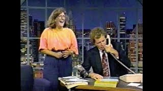 """""""How's the Weather"""" Collection on Letterman, 1990-91 + '92 Extras"""