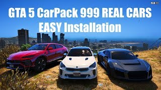 GTA 5 CarPack 999 REAL CARS ЛЕГКАЯ УСТАНОВКА