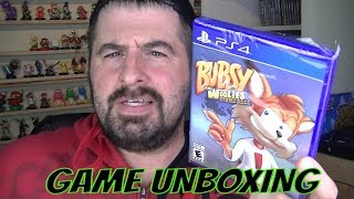 BUBSY THE WOLLIES STRIKE BACK GAME UNBOXING