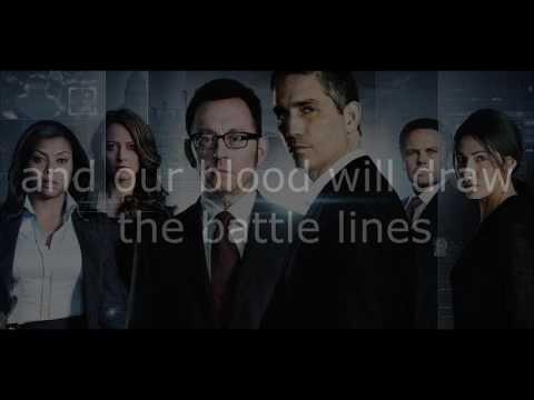 The Phantoms - This Is A War Lyrics - Person Of Interest Season 5 Promo Song Lyrics