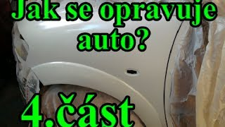 Jak se opravuje auto? Stříkání plniče - 4.část