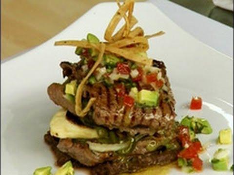 Platillos caseros carne a la tampique a con guacamole - Platos gourmet con pescado ...