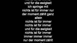 Unheilig-Für Immer Lyrics