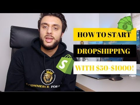 💳How Much Money You Need To Start Shopify Dropshipping in 2020 thumbnail