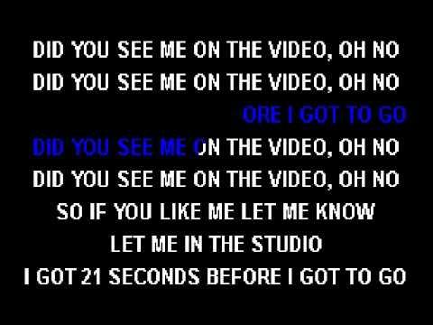 So Solid Crew   21 Seconds Karaoke