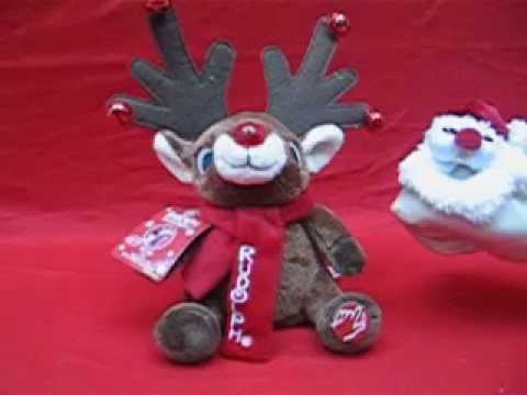 1990-now Animals Creative Rappin Plush Reindeer By Dandee
