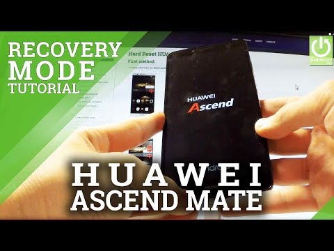Recovery Mode HUAWEI Ascend Mate 7 - Enter / Quit Recovery in Huawei