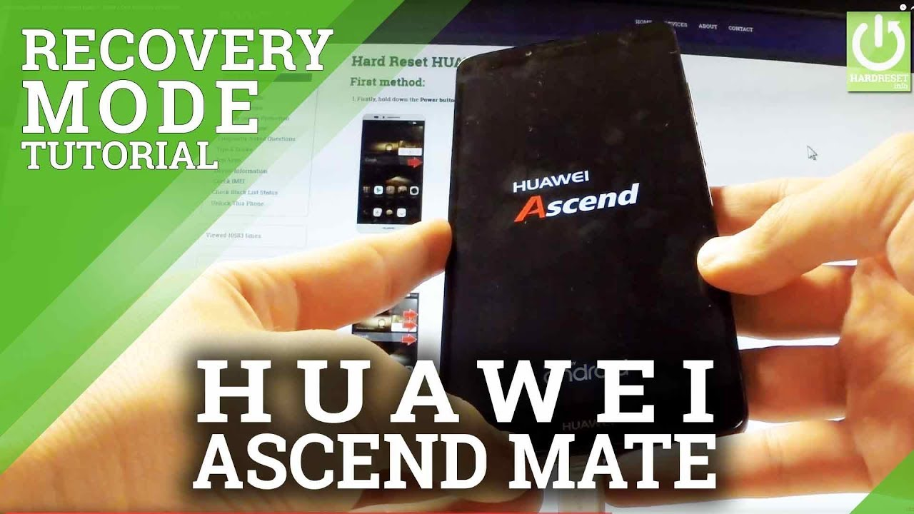 Recovery Mode Huawei Ascend Mate 7 Enter Quit Recovery In