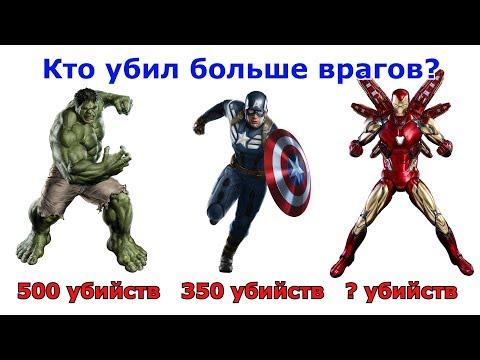 Кто из супергероев Марвел убил больше всего врагов