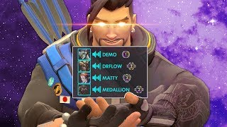 I played with the Craziest and most Toxic people EVER in Master - Overwatch