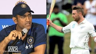 mccullum s fastest test century in 54 balls dhoni reacts