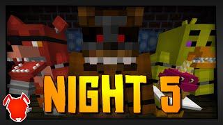 MINE Nights at Freddy's | Night 5 | FNAF Minecraft Roleplay