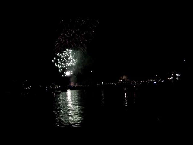 Fuochi d'artificio alla Festa del Redentore Venezia