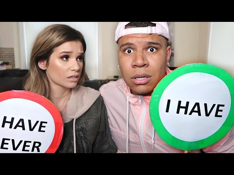 NEVER HAVE I EVER CHALLENGE WITH GIRLFRIEND!! ADMITTING I CHEATED (GONE WRONG)