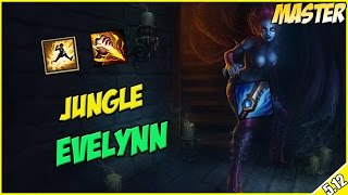 ✔ Jungle AP Evelynn Runeglaive - Full Commentary - Master 441 LP | League of Legends