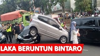 Kecelakaan Beruntun di Bintaro Jaya, 4 Mobil dan 1 Truk Ringsek - iNews Sore 06/09