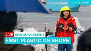 First Plastic on Shore - Press Announcement | Cleaning Oceans | The Ocean Cleanup