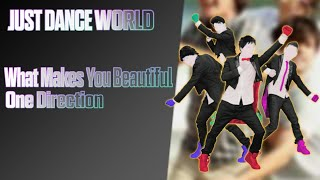 Just Dance World - What Makes You Beautiful by One Direction - Full Gameplay - 5 Stars