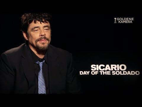 """""""Sicario 2"""": Benicio Del Toro im Interview"""