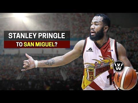 Stanley Pringle to San Miguel Beermen? | SMB,...