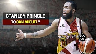 Stanley Pringle to San Miguel Beermen?   SMB, Globalport Trade Rumor