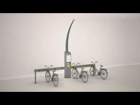 Bikonnect- The bicycle sharing system for smart cities