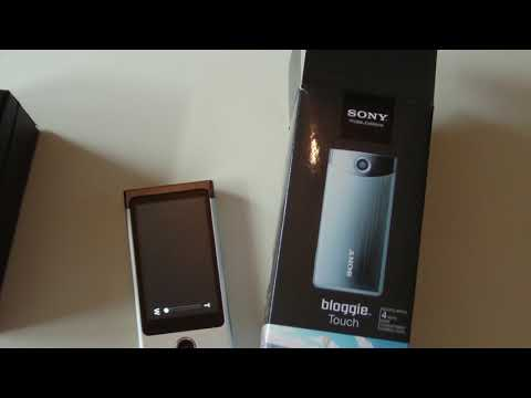 Download Sony bloggie touch digital camera review