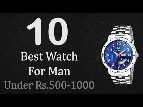 10 Best Wrist Watch Under Rs.500 To Rs.1000 For Mens | Top 10 Wrist Watch